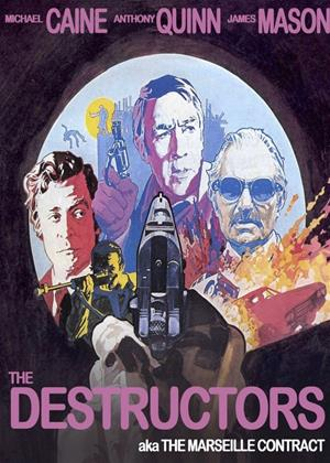 Rent The Destructors (aka The Marseille Contract) Online DVD Rental
