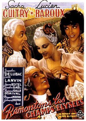 Rent Up the Champs-Élysées (aka Remontons les Champs-Élysées) Online DVD Rental