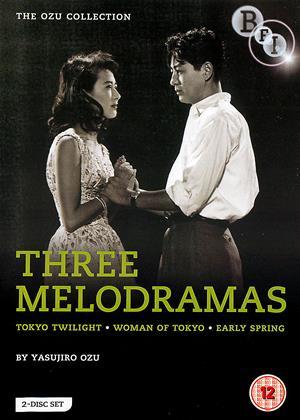 Rent Yasujiro Ozu: Three Melodramas (aka Sôshun / Tôkyô no onna / Tokyo boshoku) Online DVD & Blu-ray Rental