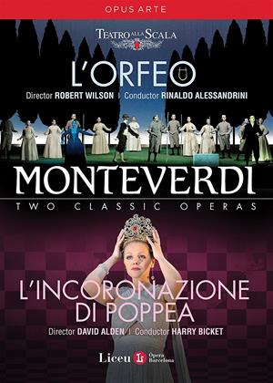Rent Monteverdi: L'Orfeo / L'incoronazione Di Poppea (aka Monteverdi: Two Classic Operas) Online DVD Rental
