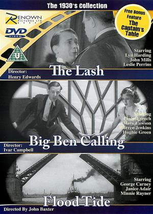 Rent The 1930s Collection (aka The Lash / Big Ben Calling / Flood Tide / The Captain's Table) Online DVD & Blu-ray Rental