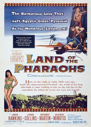 Rent Land of the Pharohs (aka Howard Hawks' Land of the Pharaohs) Online DVD Rental