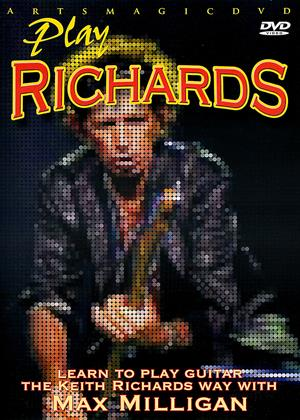 Rent Play Richards (aka Play Richards: Learn to Play Guitar The Keith Richards Way with Max Milligan) Online DVD & Blu-ray Rental