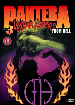 Rent Pantera: 3 Vulgar Videos from Hell Online DVD & Blu-ray Rental
