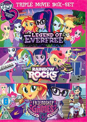 Rent My Little Pony: Equestria Girls: Legend of Everfree Online DVD Rental