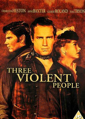 Rent Three Violent People Online DVD & Blu-ray Rental