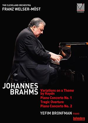 Rent Yefim Bronfman: Johannes Brahms (Franz Welser-Möst) Online DVD Rental