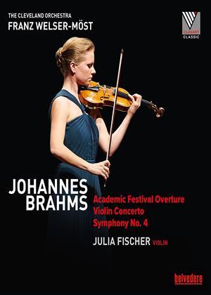Rent Julia Fischer: Johannes Brahms (Franz Welser-Möst) Online DVD Rental