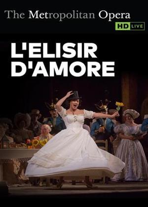 Rent L'elisir D'amore: Metropolitan Opera 2018 (Domingo Hindoyan) Online DVD Rental