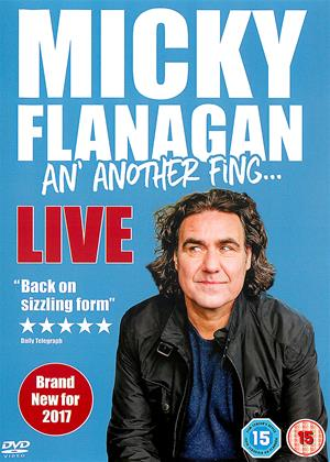 Rent Micky Flanagan: An' Another Fing: Live Online DVD Rental