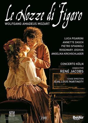 Rent Le Nozze Di Figaro: Concerto Köln (Rene Jacobs) Online DVD Rental