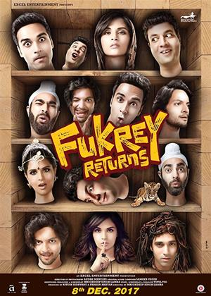 Rent Fukrey Returns Online DVD Rental