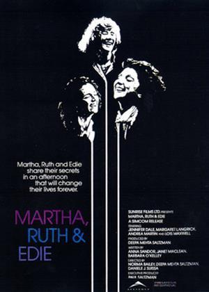 Rent Martha, Ruth and Edie (aka Martha, Ruth & Edie) Online DVD Rental