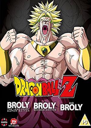 Rent Dragon Ball Z: The Broly Trilogy Online DVD Rental