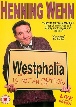 Henning Wehn: Westphalia Is Not an Option Online DVD Rental