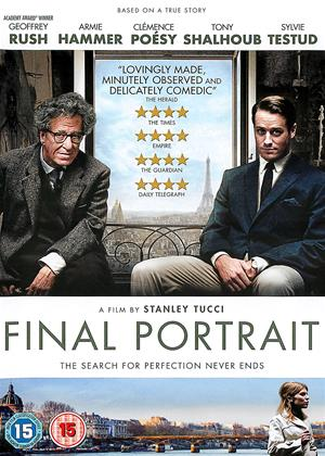 Final Portrait Online DVD Rental