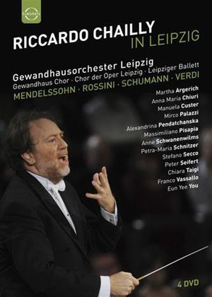 Rent Riccardo Chailly in Leipzig (aka Riccardo Chailly in Leipzig (Mendelssohn, Rossini, Schumann, Verdi)) Online DVD Rental