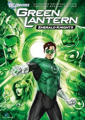 Rent Green Lantern: Emerald Knights Online DVD Rental