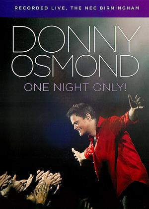 Rent Donny Osmond: One Night Only! Online DVD Rental