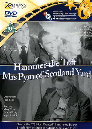 Rent Hammer the Toff / Mrs. Pym of Scotland Yard Online DVD & Blu-ray Rental