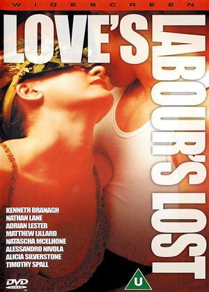 Rent Love's Labour's Lost Online DVD Rental