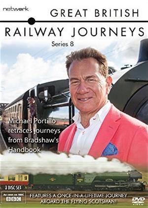 Rent Great British Railway Journeys: Series 8 Online DVD Rental
