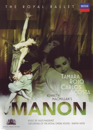 Rent Manon: Royal Opera House (Martin Yates) Online DVD Rental
