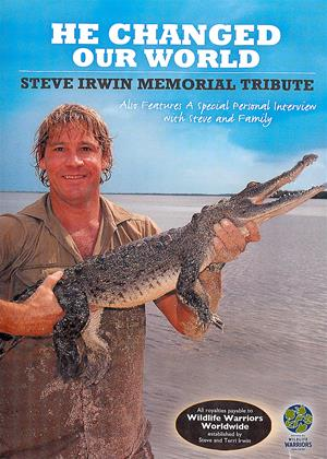 Rent He Changed Our World: Steve Irwin Memorial Tribute (aka Steve Irwin: He Changed Our World) Online DVD & Blu-ray Rental