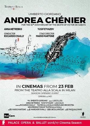 Rent Andrea Chenier: Teatro Alla Scala (Riccardo Chailly) Online DVD Rental