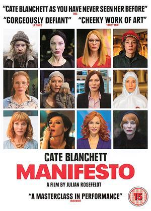 Rent Manifesto Online DVD Rental
