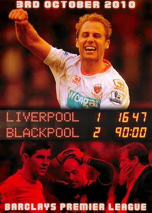 Rent Liverpool 1 Blackpool 2: Barclays Premier League (aka Liverpool 1 Blackpool 2: Barclays Premier League 03.10.10) Online DVD & Blu-ray Rental