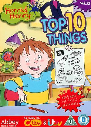 Rent Horrid Henry: Top 10 Things (aka Horrid Henry: Top Ten Things) Online DVD Rental