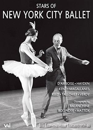 Rent Stars of the New York City Ballet: 1959-1966 Online DVD Rental