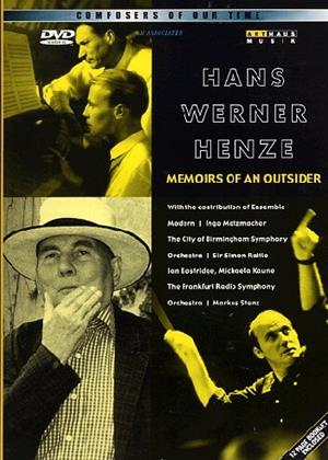 Rent Hans Werner Henze: Memoirs of an Outsider: A Portrait and Concert Online DVD & Blu-ray Rental