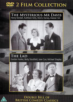 Rent The Mysterious Mr. Davis / The Lad (aka My Partner Mr. Davis / The Lad) Online DVD & Blu-ray Rental