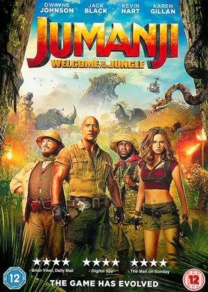 Jumanji: Welcome to the Jungle Online DVD Rental