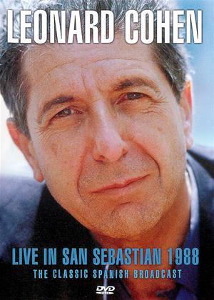 Rent Leonard Cohen: Live in San Sebastian 1988 Online DVD Rental