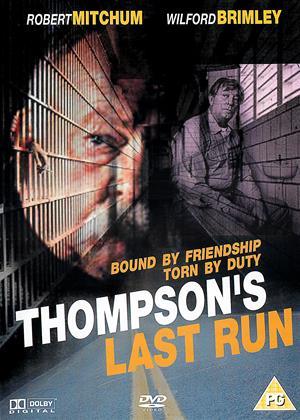 Rent Thompson's Last Run (aka The Last Run) Online DVD & Blu-ray Rental
