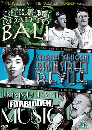 Rent 3 Classics of the Silver Screen: Vol.10 (aka Road to Bali / Basin Street Revue / Forbidden Music) Online DVD & Blu-ray Rental