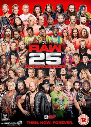WWE: Raw: 25th Anniversary Online DVD Rental