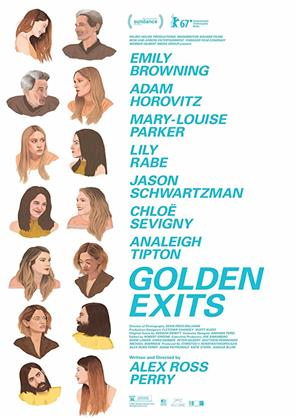 Rent Golden Exits Online DVD Rental