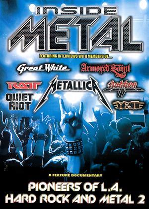 Rent Inside Metal: Pioneers of L.A. Hard Rock and Metal: Vol.2 Online DVD Rental