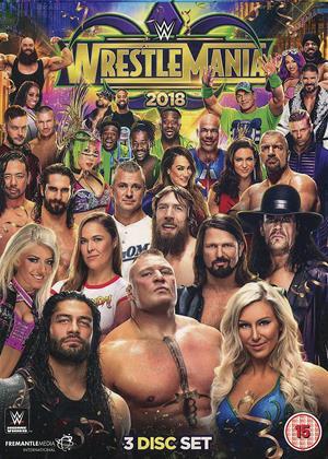 Rent WWE: WrestleMania 34 Online DVD & Blu-ray Rental