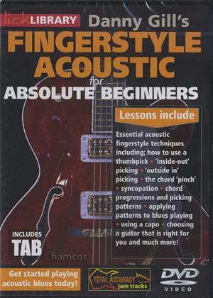 Rent Absolute Beginners: Fingerstyle Acoustic Online DVD Rental