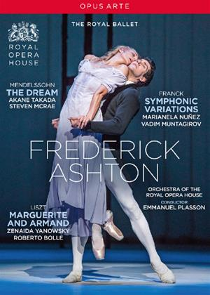 Rent The Royal Ballet: The Dream / Symphonic Variations / Marguerite and Armand Online DVD Rental