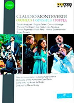 Rent Claudio Monteverdi: Orpheus/Odysseus/Poppea (De Ridder) Online DVD Rental