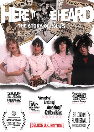 Rent Here to Be Heard: The Story of the Slits (aka The Slits: Here to Be Heard: The Story of the Slits) Online DVD & Blu-ray Rental