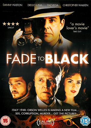 Rent Fade to Black Online DVD & Blu-ray Rental