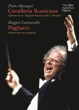 Rent Cavalleria Rusticana / Pagliacci : The Metropolitan Opera (James Levine) (aka Mascagni: Cavalleria Rusticana / Leoncavallo: Pagliacci (Metropolitan Opera)) Online DVD & Blu-ray Rental