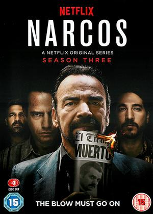 Rent Narcos: Series 3 Online DVD Rental